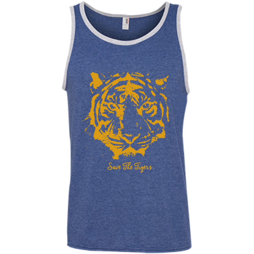 Save the Tigers Awareness Men's Tank Top