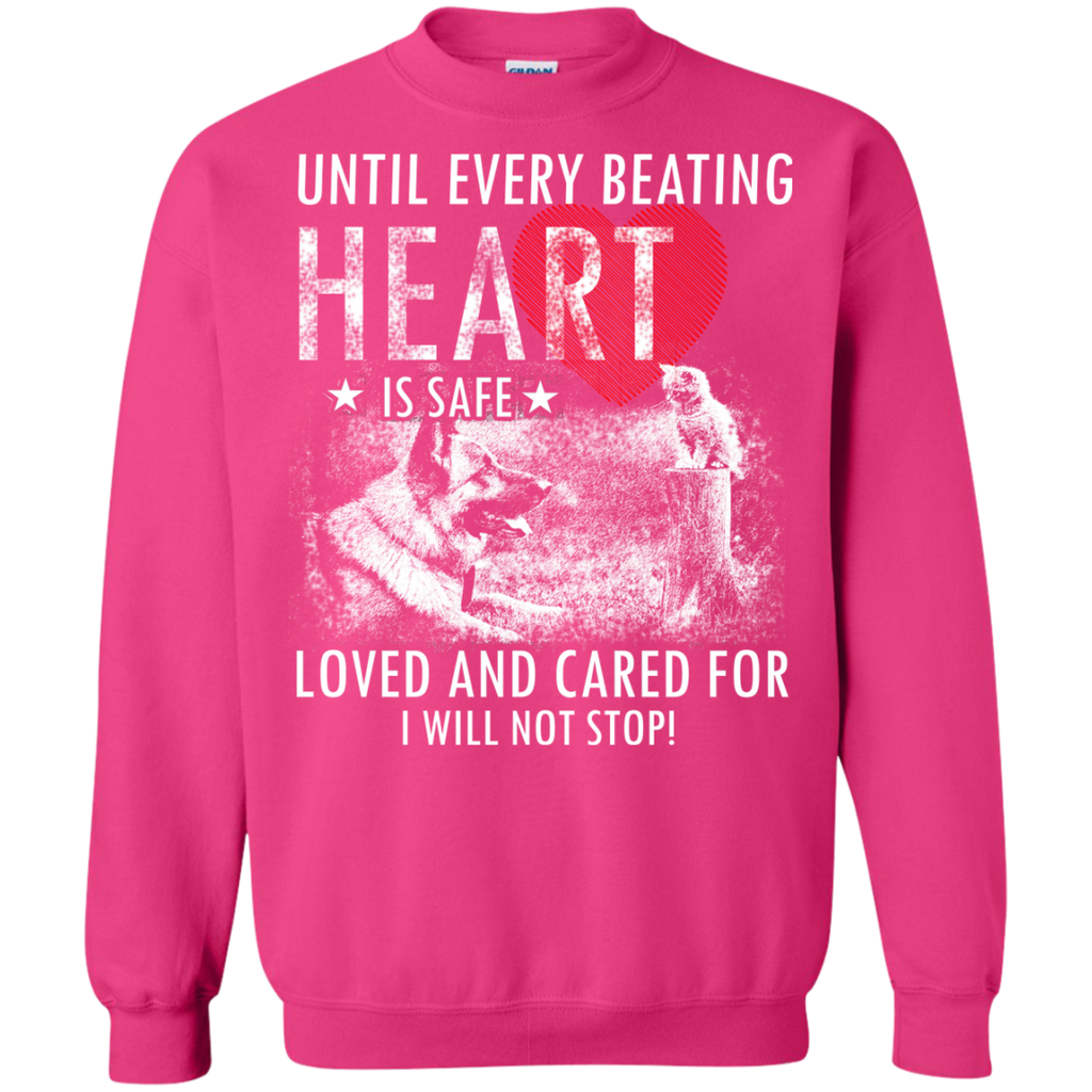 Save & Care for Dog Lovers Sweatshirt