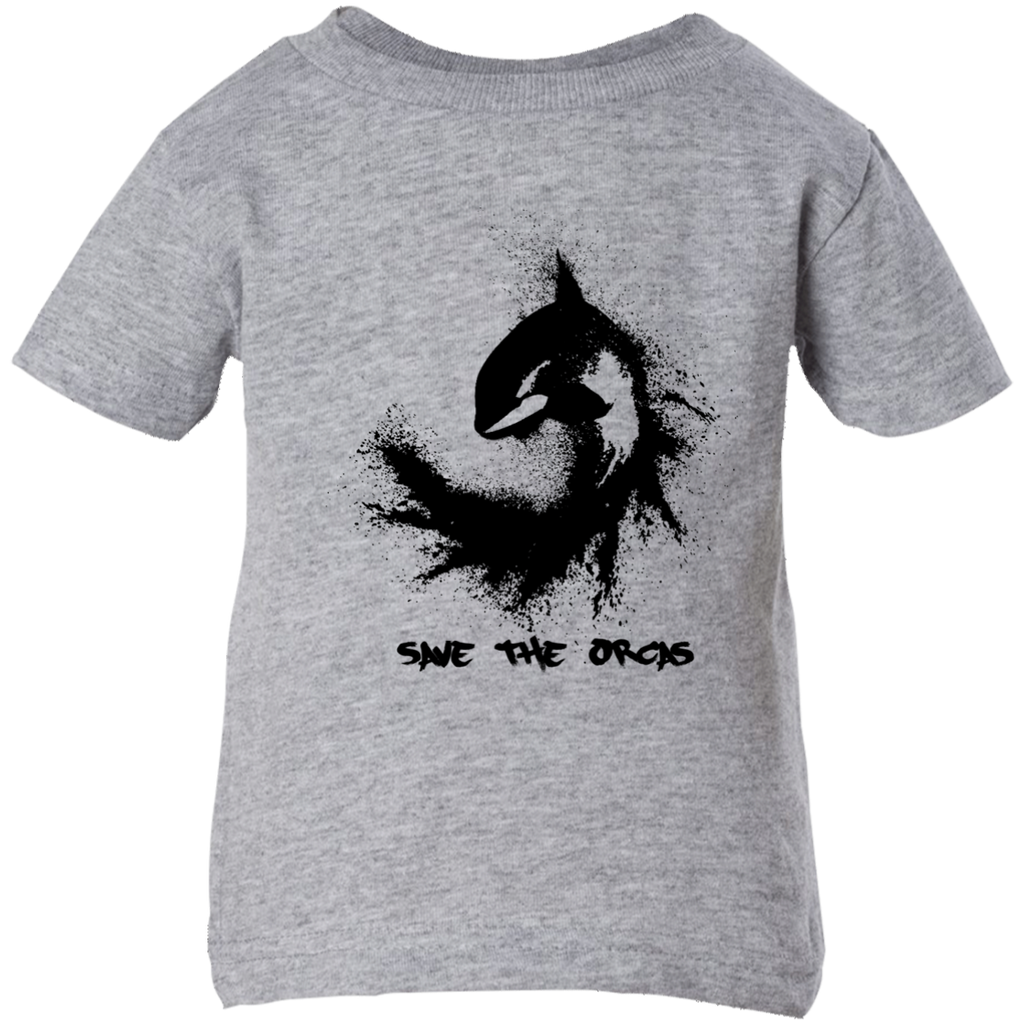 Save the Orcas Kids Infant T-shirt