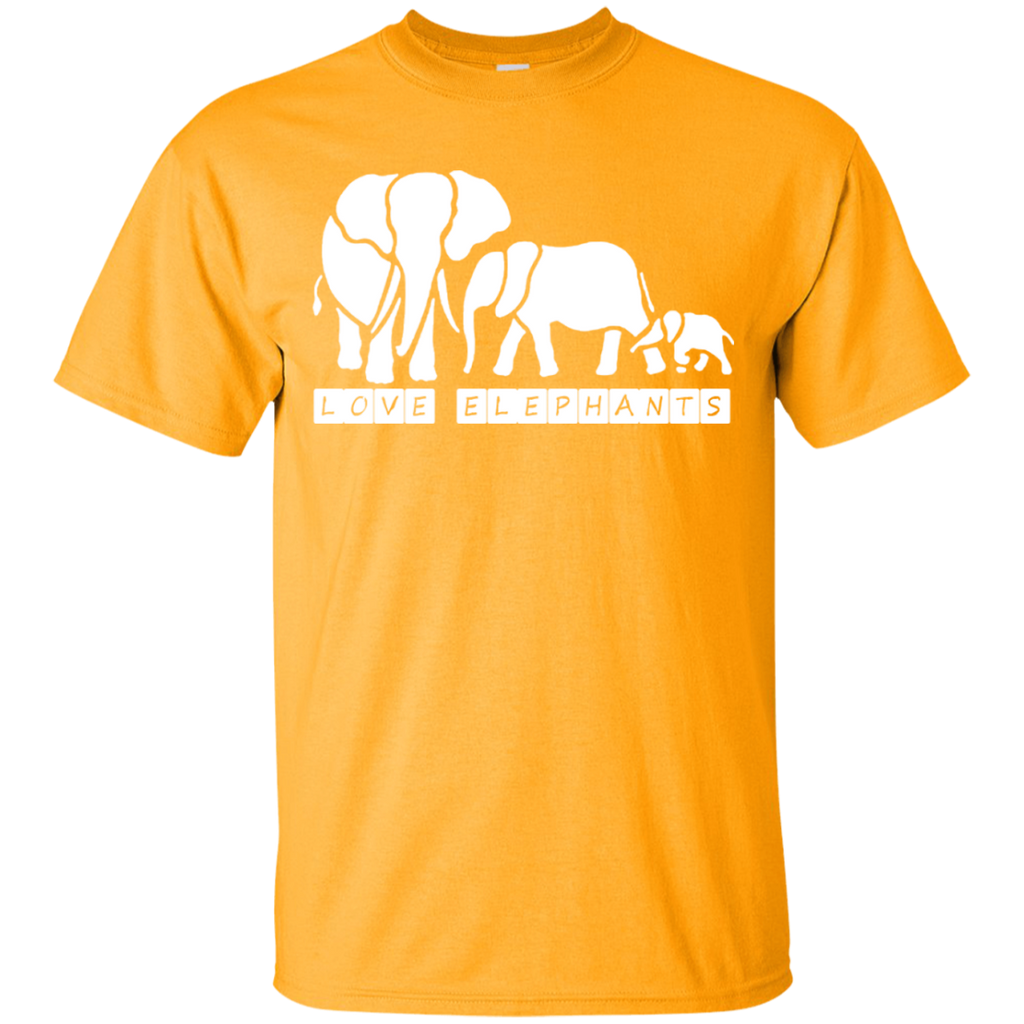 Love Elephants Awareness Youth T-Shirt