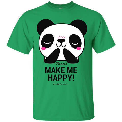 Pandas Make Me happy, You Not so Much Youth T-Shirt