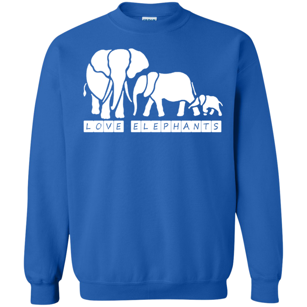 Love Elephants Awareness Sweatshirt