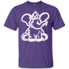 Image of Funny Elephant Stencil Unisex T-Shirt