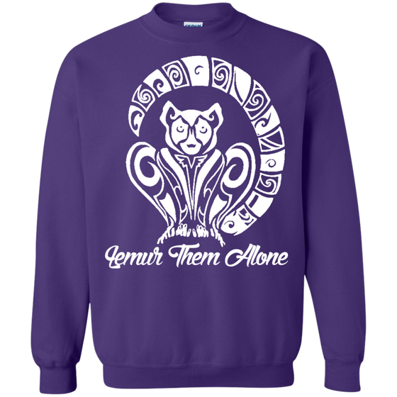 Lemur Them Alone Awareness Sweatshirt