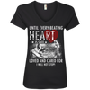 Image of Save & Care for Dog Lovers Women's V-Neck T-Shirt