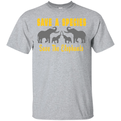 Save the Species Save the Elephants Awareness Unisex T-Shirt