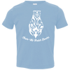 Image of Save The Polar Bears Awareness Toddler Jersey T-Shirt