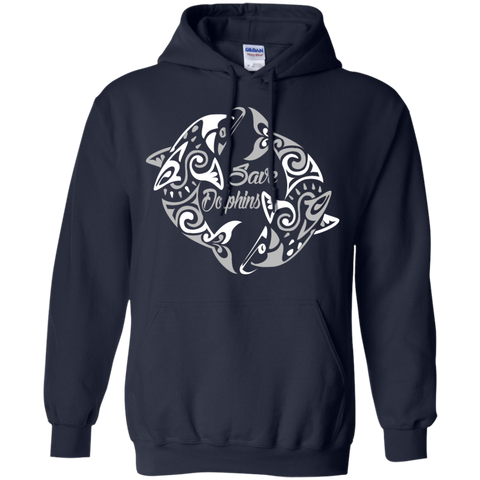 Save Dolphins Awareness Hoodie