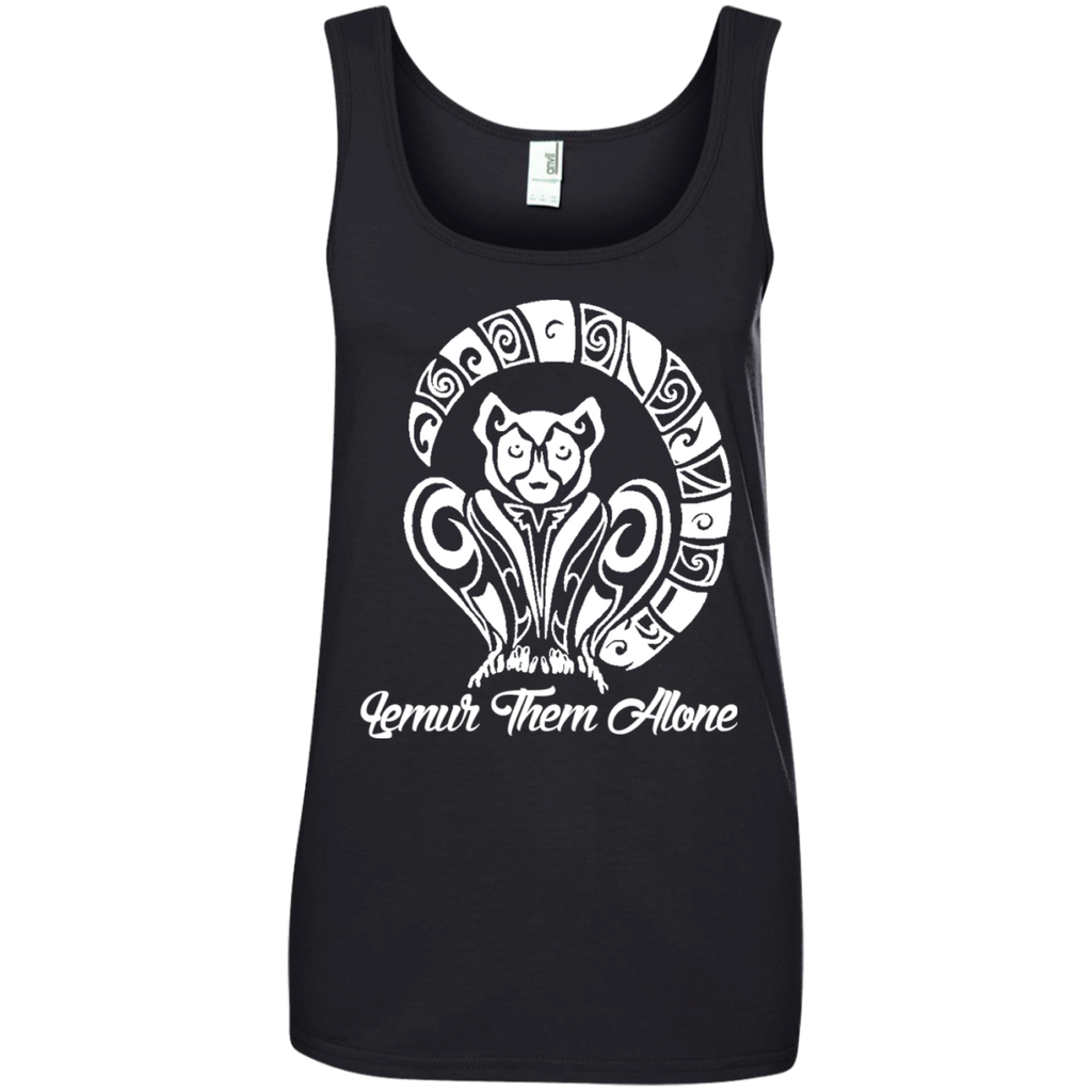 Lemur Them Alone Awareness Women's Tank Top