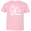 Image of Love Rhinos Toddler Jersey T-Shirt
