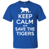 Image of Keep Calm And Save the Tigers Awareness Unisex Tank Top
