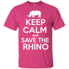 Image of Keep Calm and Save the Rhino Unisex T-Shirt