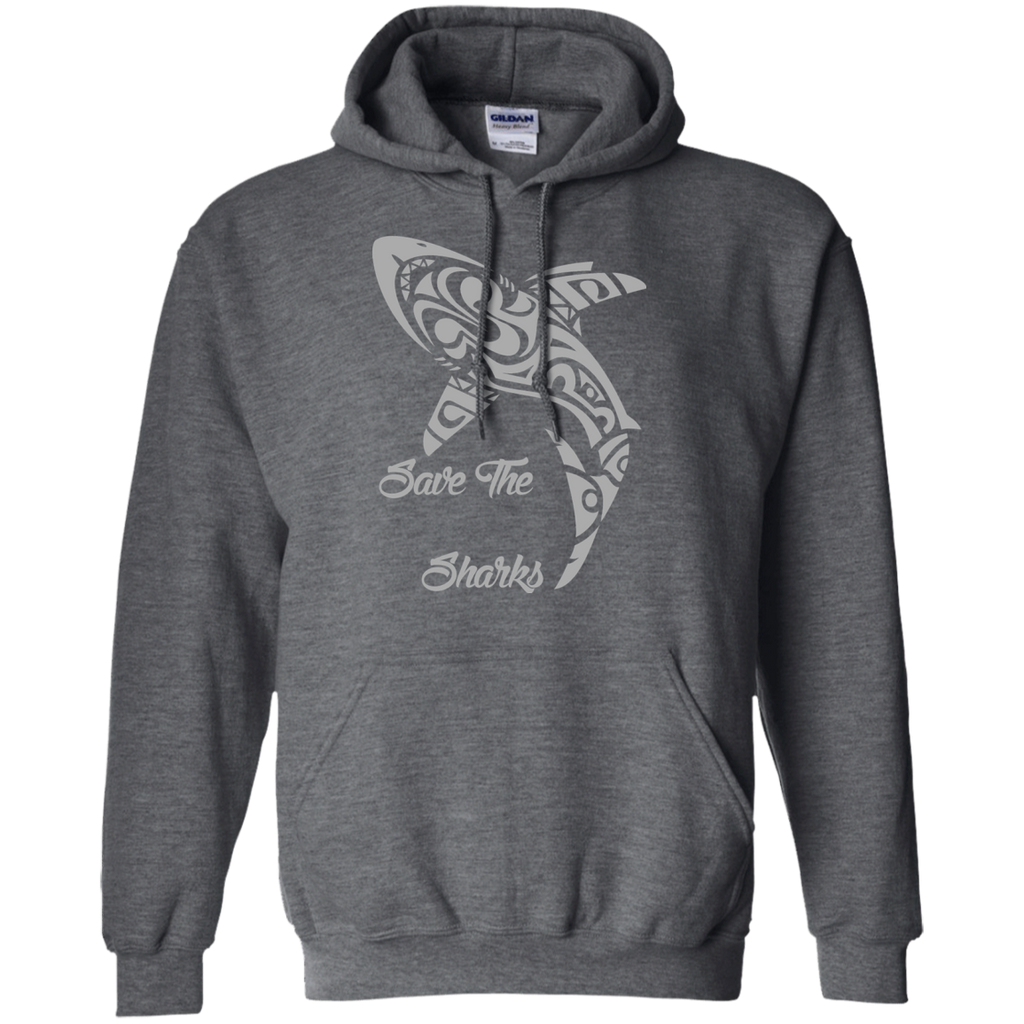 Save the Sharks Tribal Hoodie
