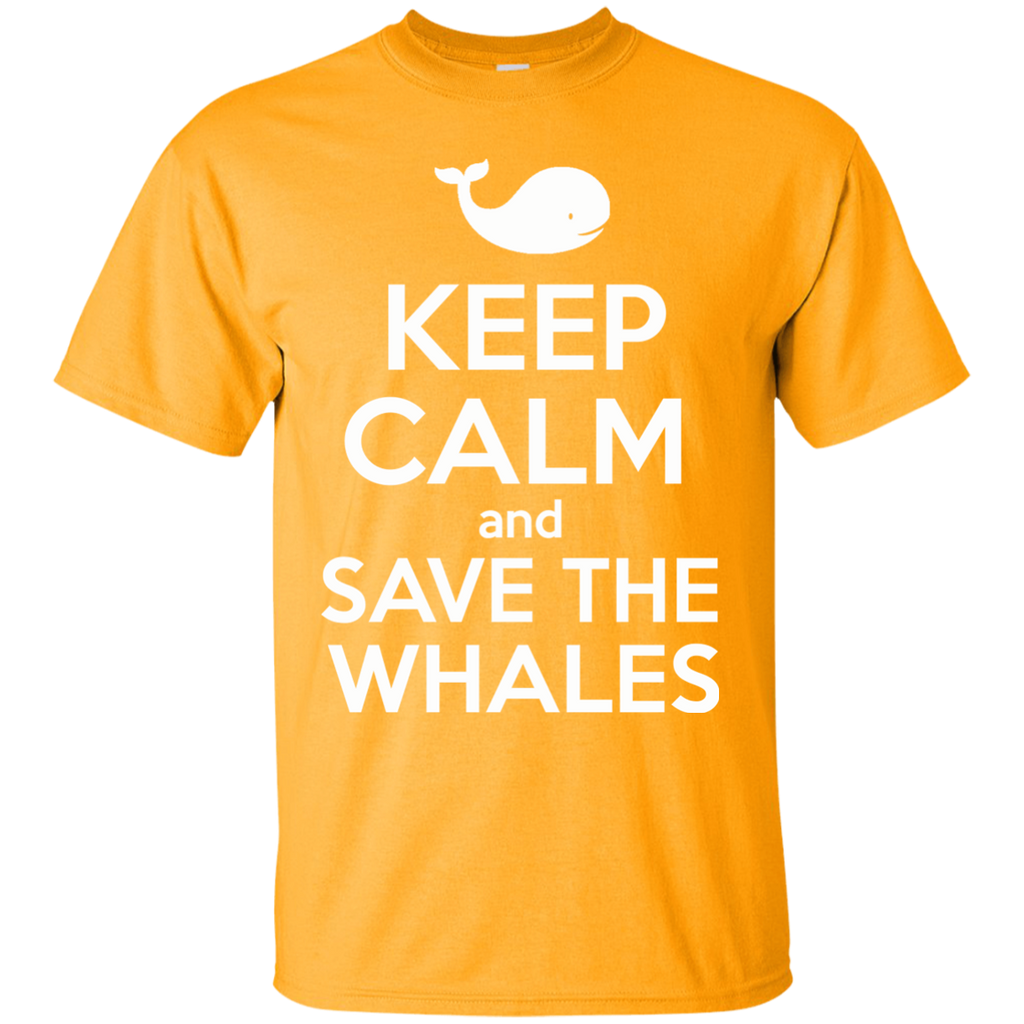 Keep Calm And Save the Whales Youth T-Shirt