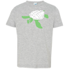 Image of Turtle Stencil Toddler Jersey T-Shirt