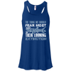 Image of The Thing we Should Fear Most About Sharks is Their Looming Extinction Women's Flowy Tank Top