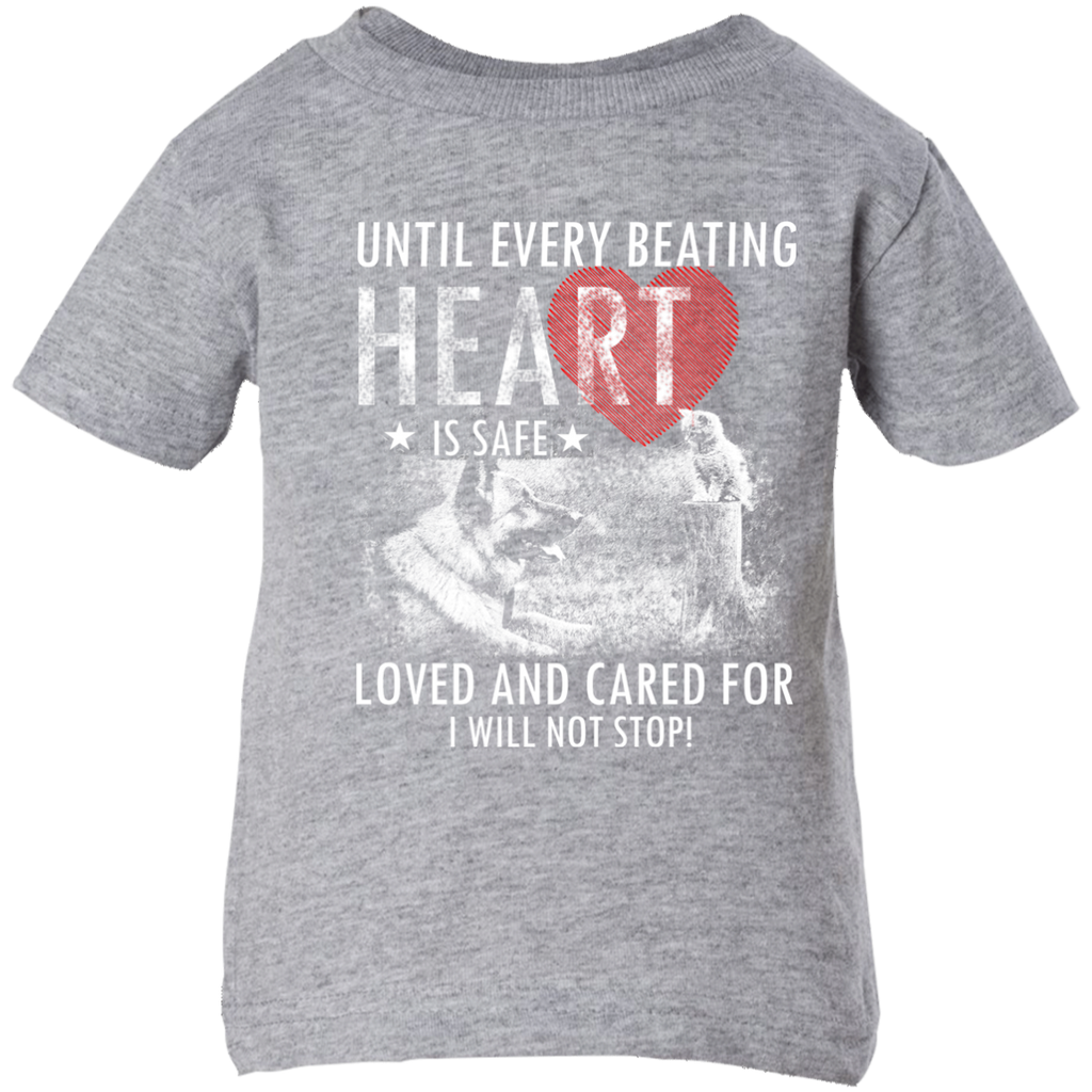 Save & Care for Dog Lovers Infant T-Shirt