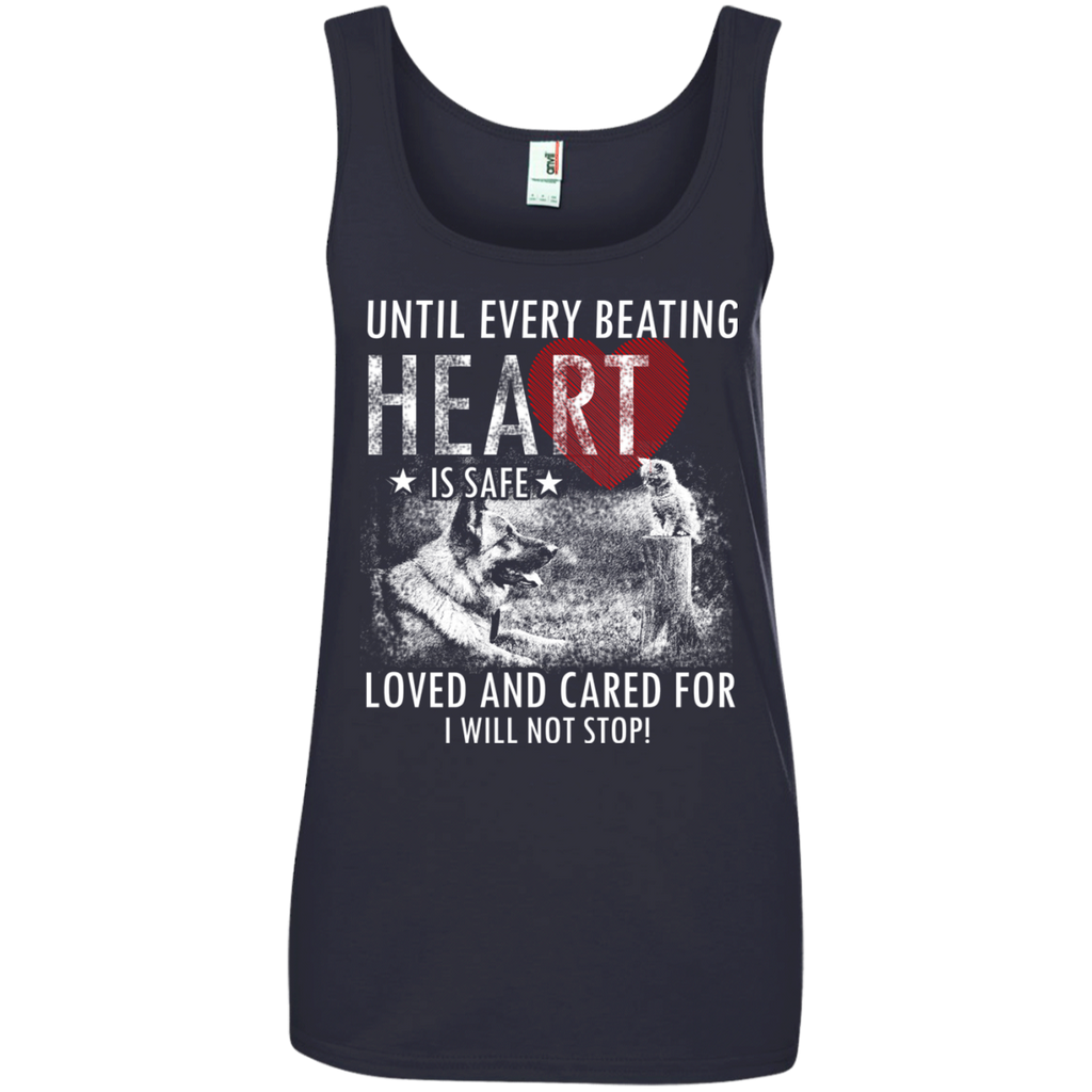 Save & Care for Dog Lovers Women's Tank Top