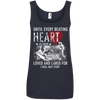 Image of Save & Care for Dog Lovers Women's Tank Top