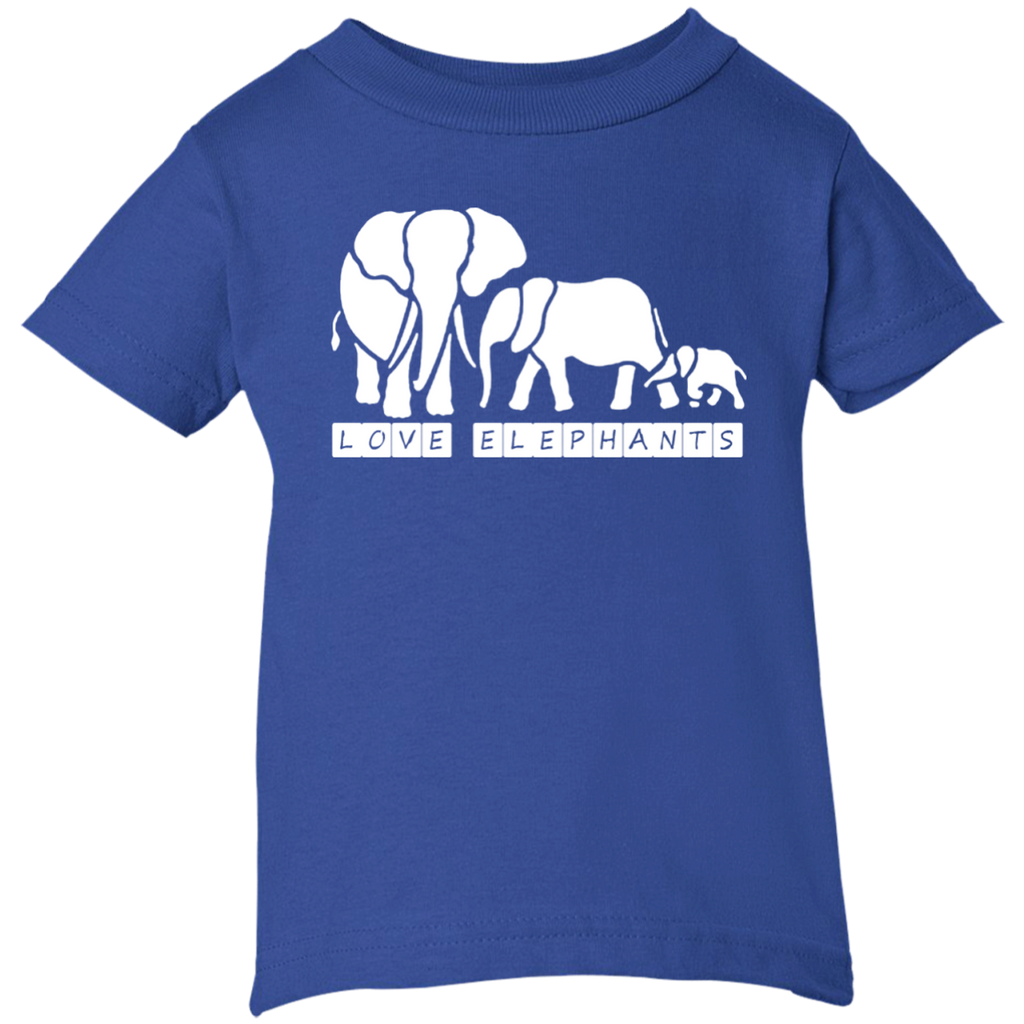 Love Elephants Awareness Infant T-Shirt