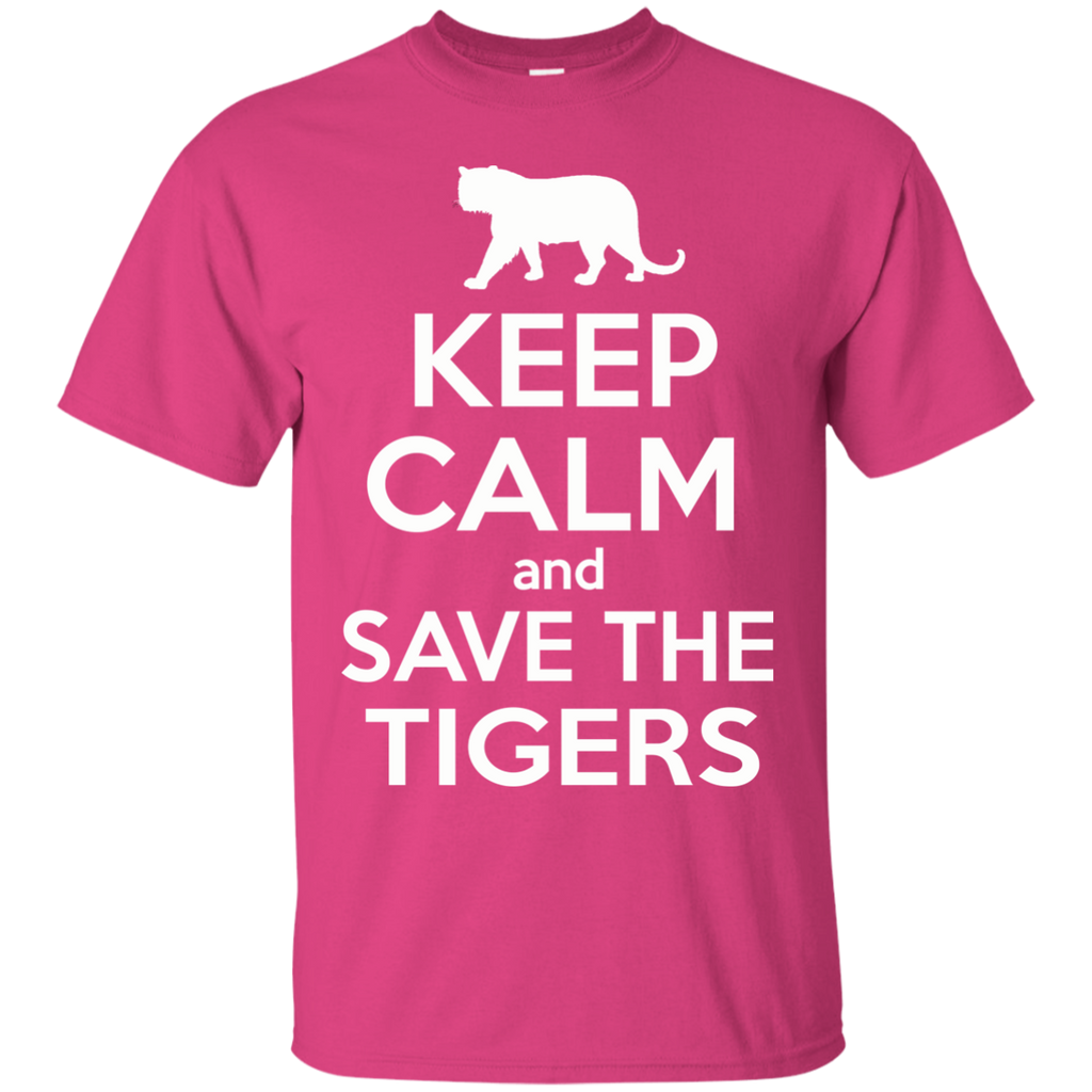 Keep Calm And Save the Tigers Awareness Unisex Tank Top