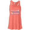 Image of The Thing we Should Fear Most About Sharks is There Looming Extinction Women's Flowy Tank Top