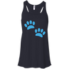 Image of Paw Prints Women's Flowy Tank Top