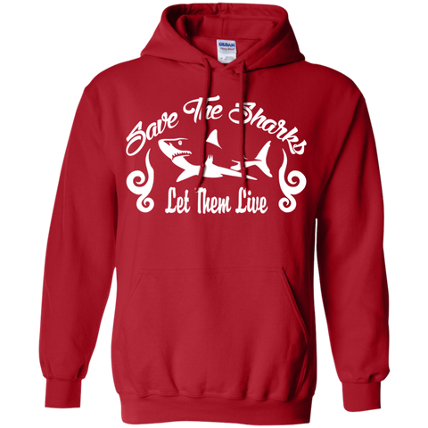 Save the Sharks Let Them live Hoodie