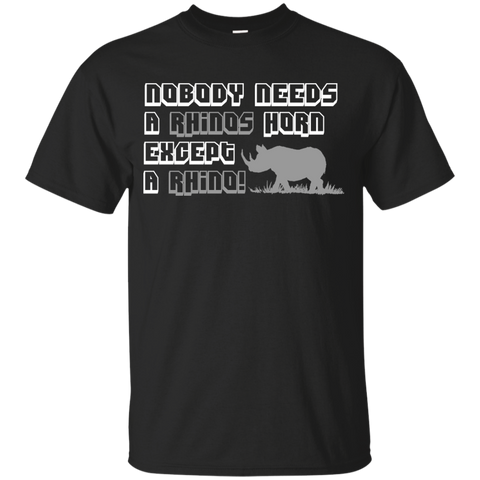 Nobody Needs A Rhino Horn Except a Rhino Awareness Youth T-Shirt