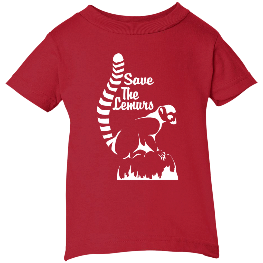 Save the Lemur Awareness Infant T-Shirt