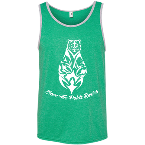 Save The Polar Bears Awareness Men's Tank Top