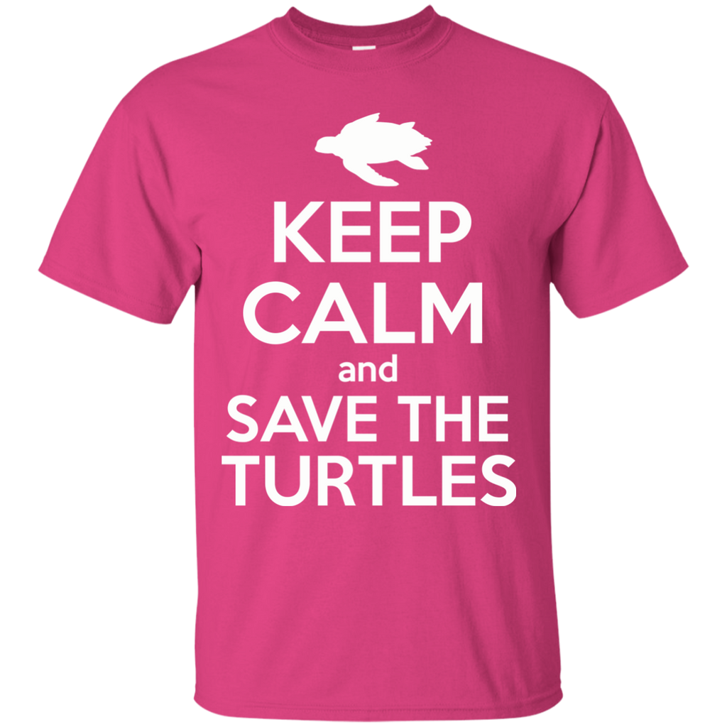 Keep Calm And Save the Turtles Youth T-Shirt