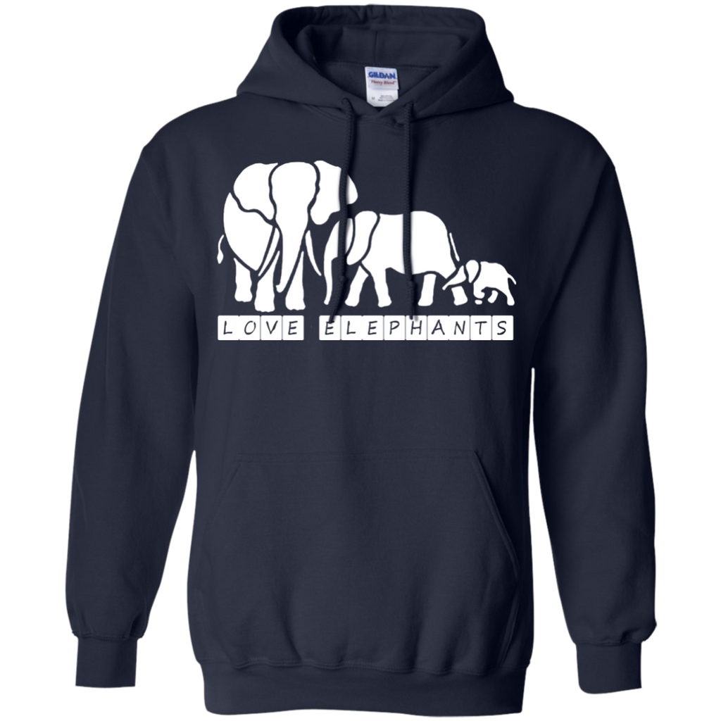 Love Elephants Awareness Hoodie