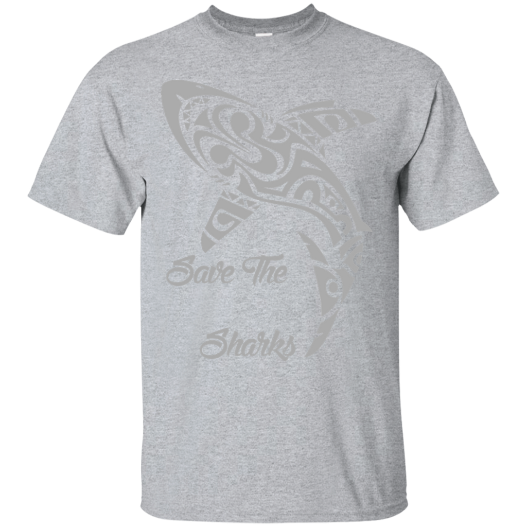 Save the Sharks Tribal Unisex T-Shirt