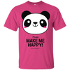 Image of Pandas Make Me happy, You Not so Much unisex T-Shirt