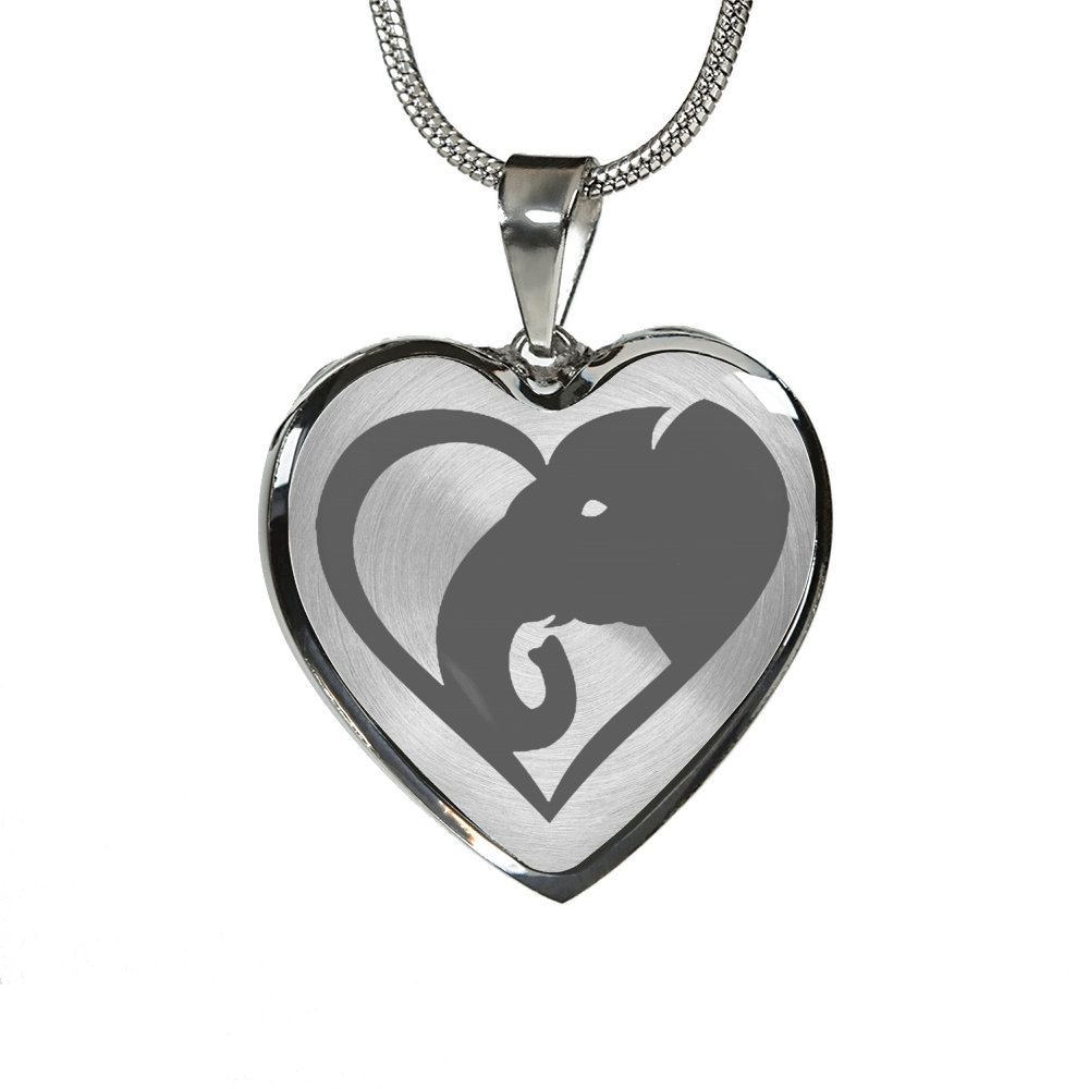 Love Elephants Necklace