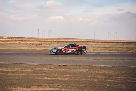 On track at Buttonwillow Stefan Tomalik