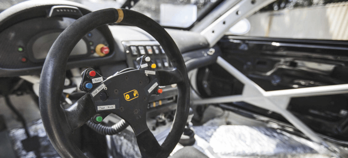 interior parts and accessories shown for a race auto vehicle