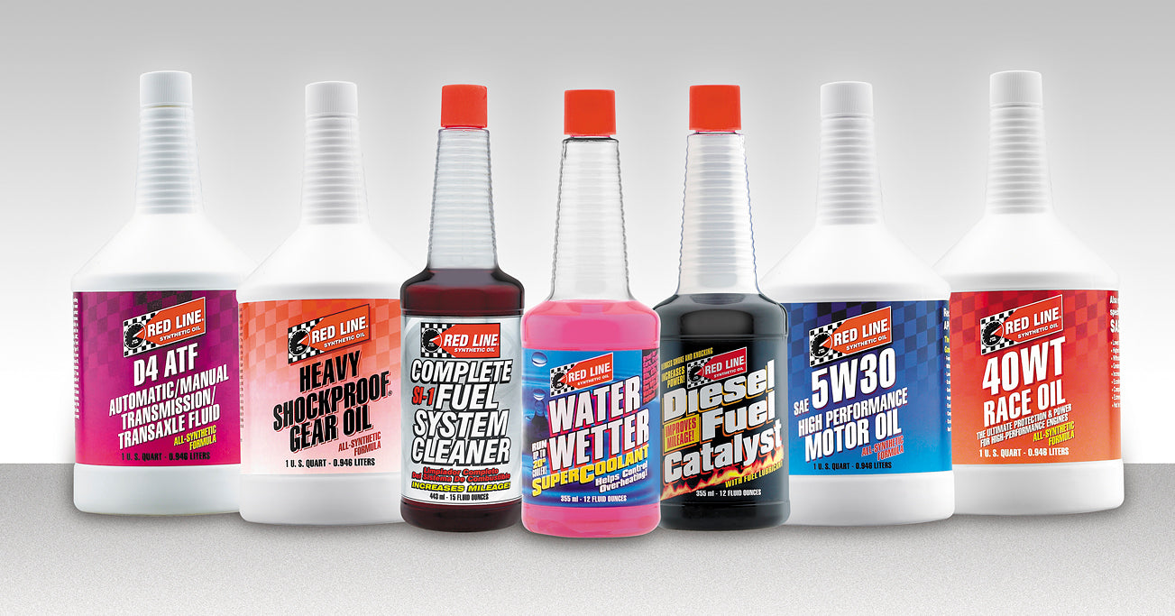 redline performance oil products