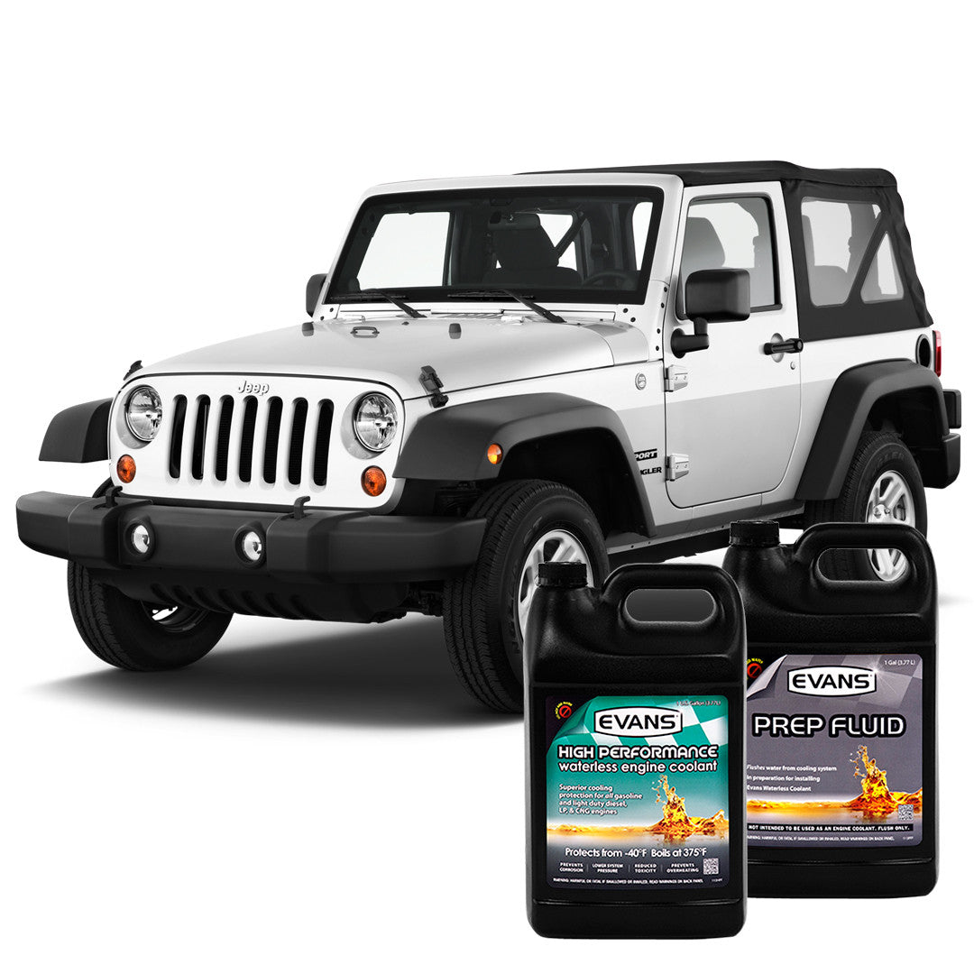 Evans Waterless Conversion Kit For 2007   2012 Jeep Wrangler