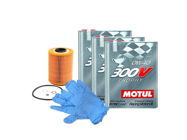 BMW 328i N20 & N26 Motul 300V 0w40 Trophy Engine Oil Change Kit