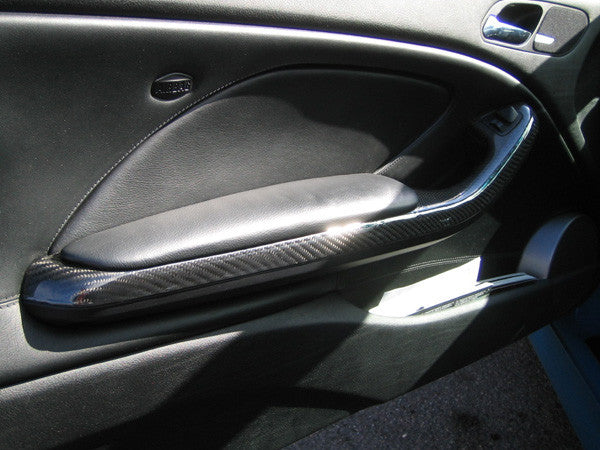 agency power bmw e46 m3 carbon fiber door handles edo. Black Bedroom Furniture Sets. Home Design Ideas