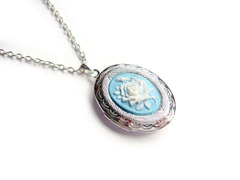 Rose Cameo Locket