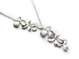 Cascading Orchid Necklace