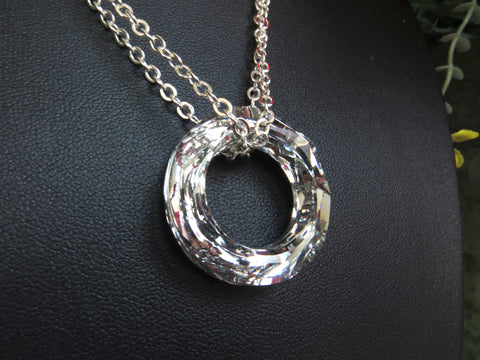 Swarovski Crystal Eternity Circle
