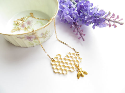 Sweet As Honey Necklace