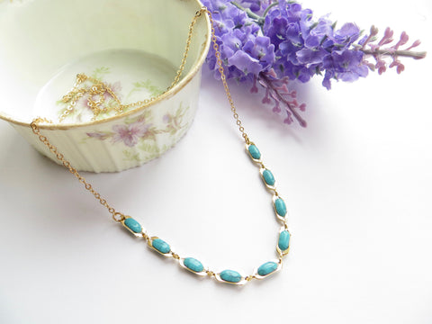 Everyday Necklace - Turquoise