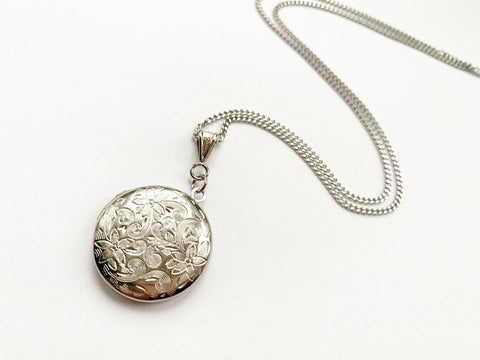 Stainless Steel Round Locket