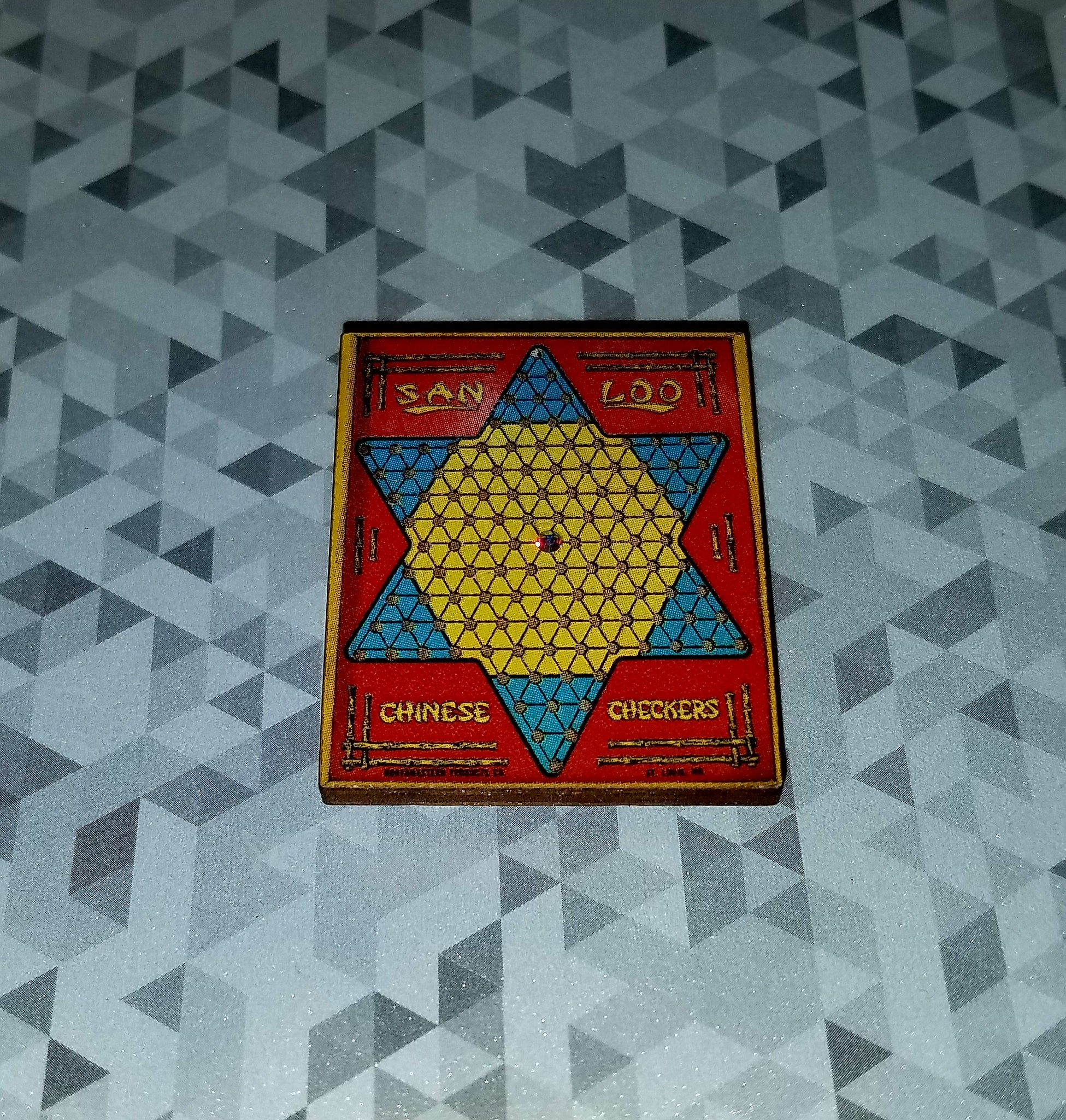 Chinese Checkers Magnet
