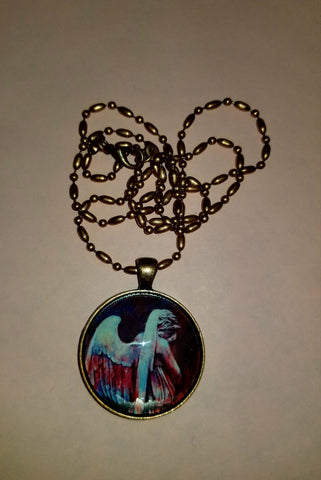 Weeping in Colour Cabochon Necklace